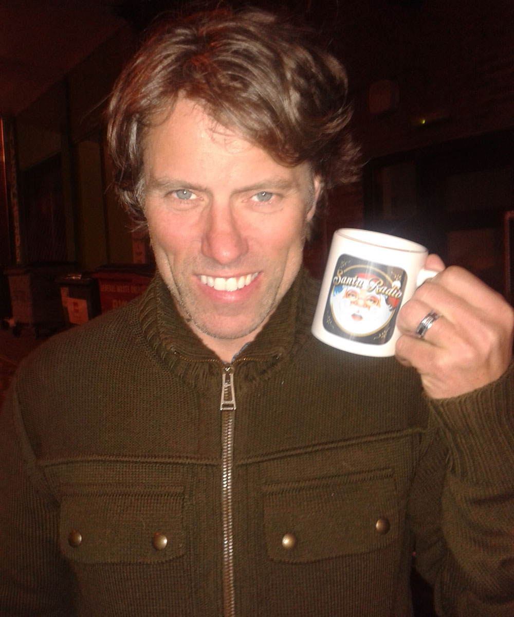 John Bishop Comedian - Santa Radio Celebrity Mugshots
