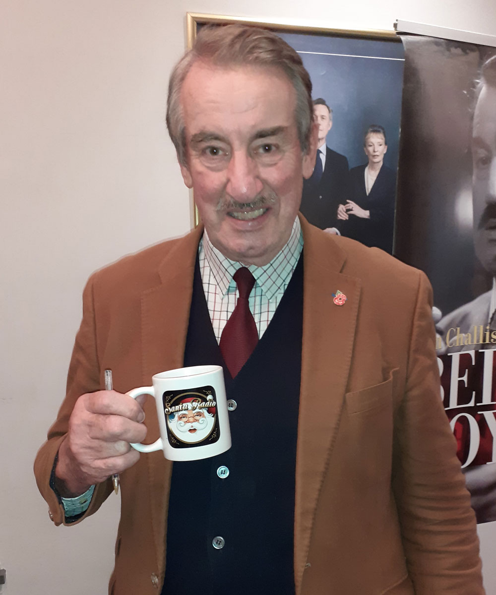 John Challis Actor - Santa Radio Celebrity Mugshots