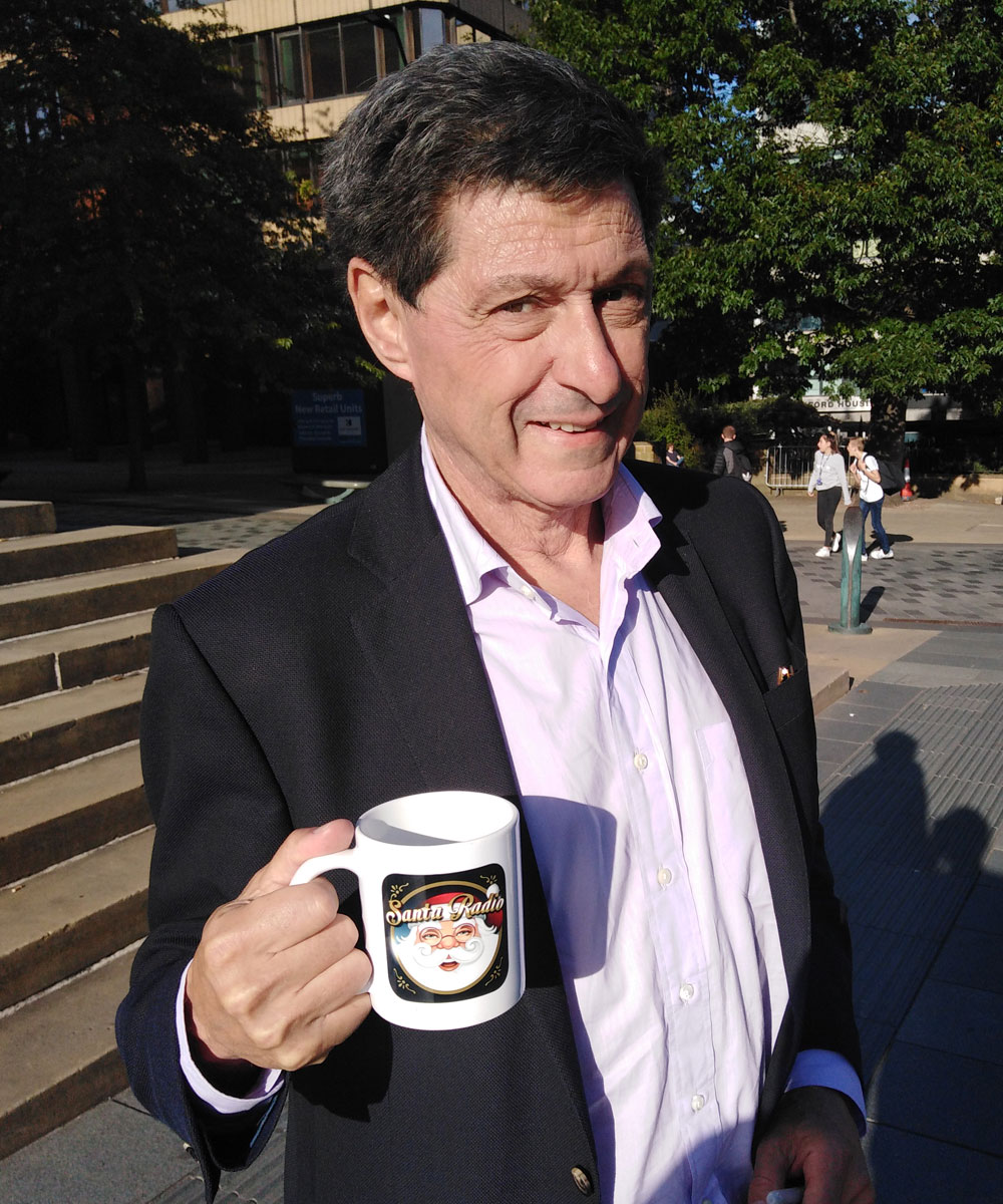 John Sopel British television presenter - Santa Radio Celebrity Mugshots
