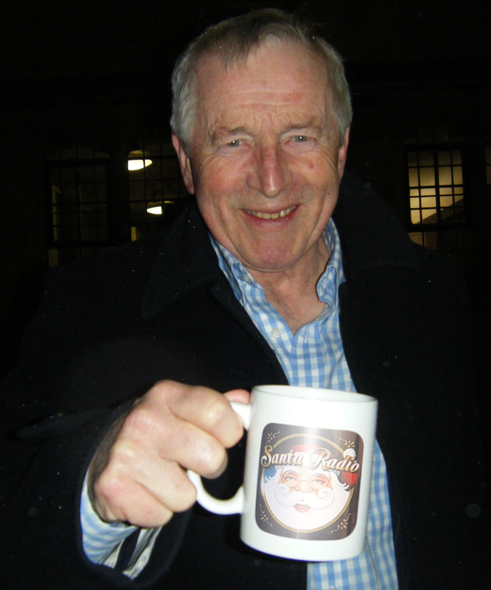 Jonathan Dimbleby - British presenter - Santa Radio Mugshot