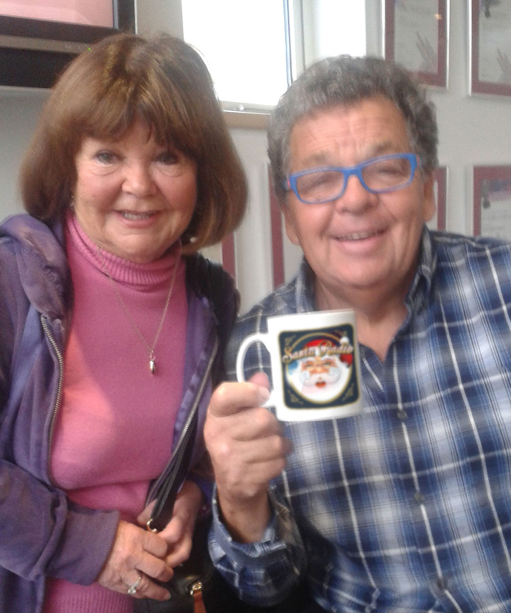 The Krankies - Comedy Duo - Santa Radio Mugshot