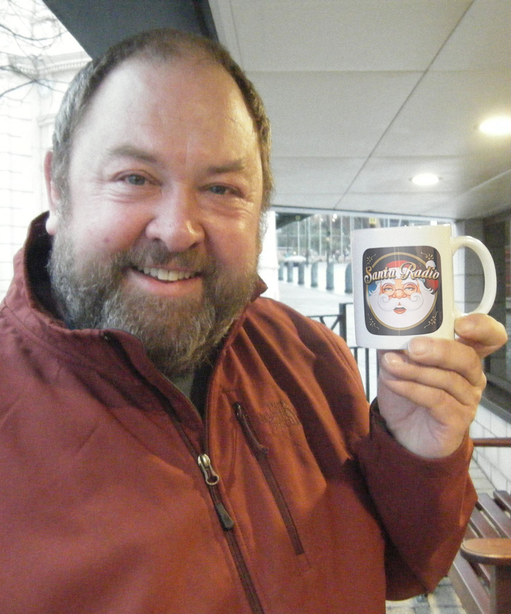 Mark Addy - Actor - Santa Radio Mugshot