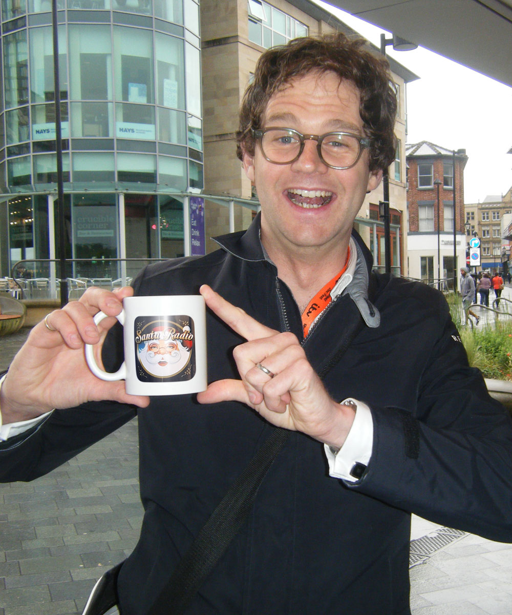 Mark Dolan - Comedian, Writer, and TV Presenter. - Santa Radio Mugshot