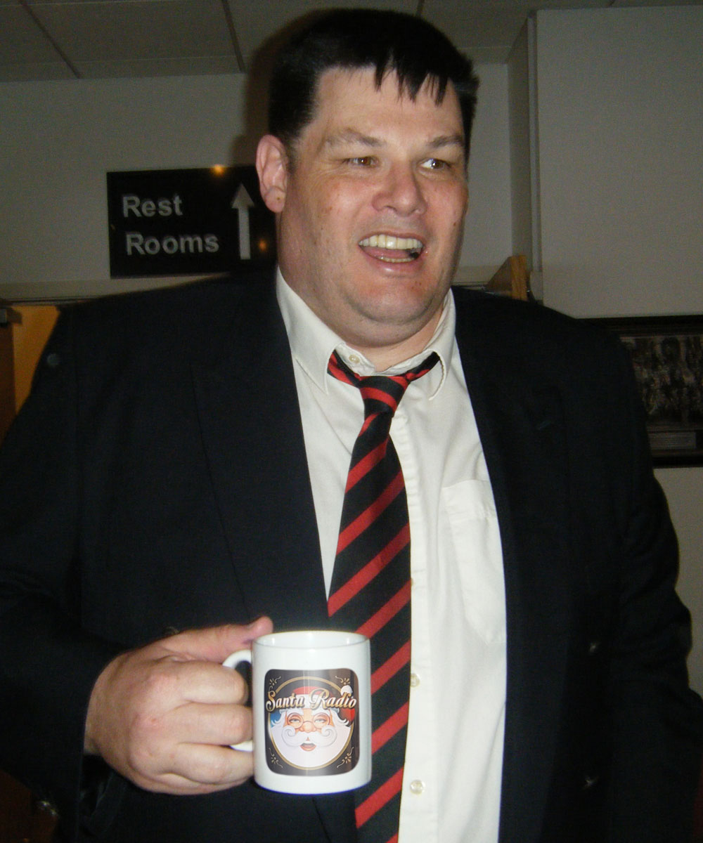 Mark Labbett (The Beast) Mark Labbett - Santa Radio Celebrity Mugshots