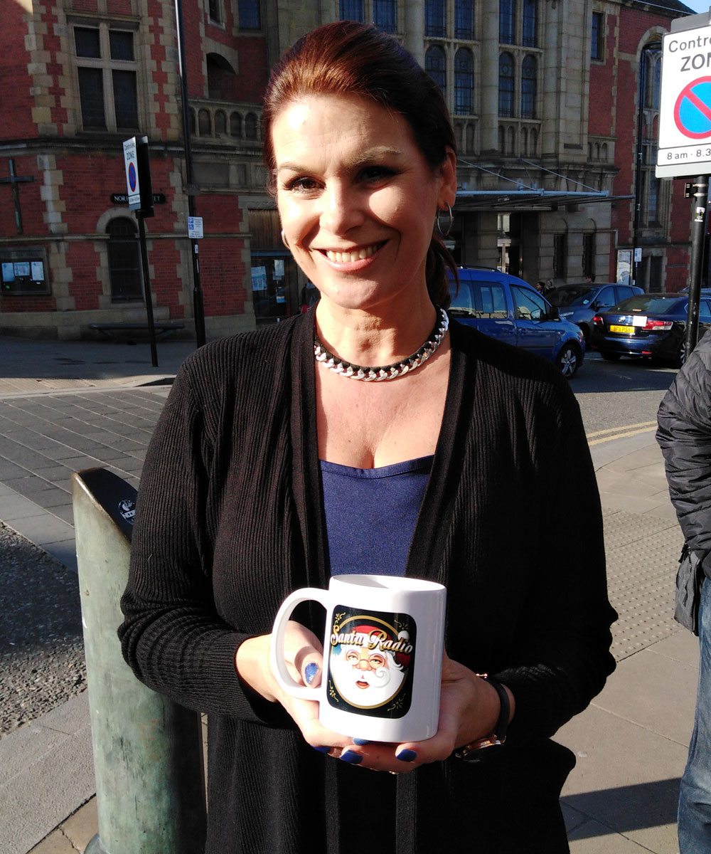 Michaela Tabb Association football referee - Santa Radio Celebrity Mugshots