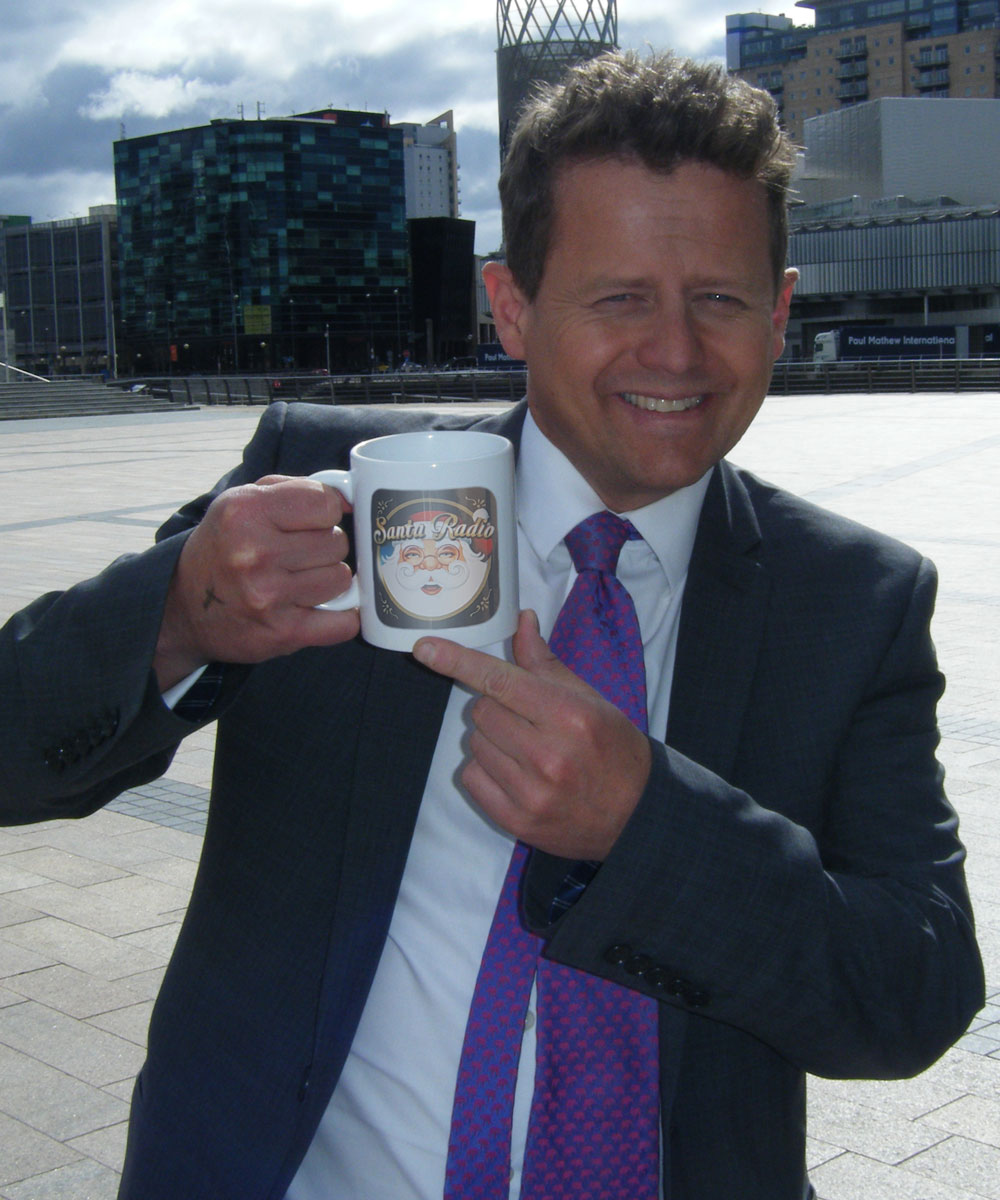 Mike Bushell - Sports presenter - Santa Radio Mugshot