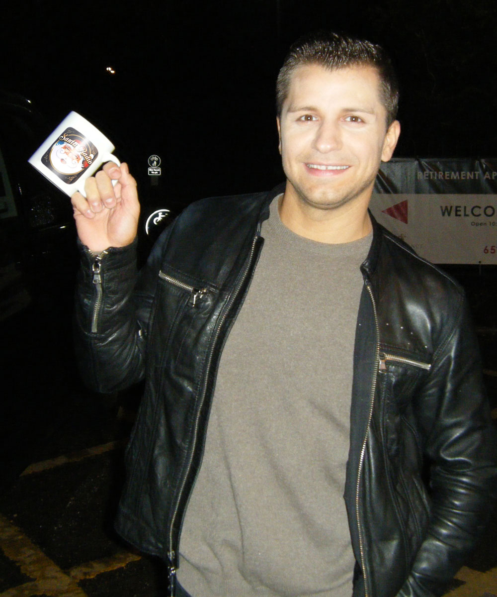 Pasha Kovalev Russian professional dancer - Santa Radio Celebrity Mugshots