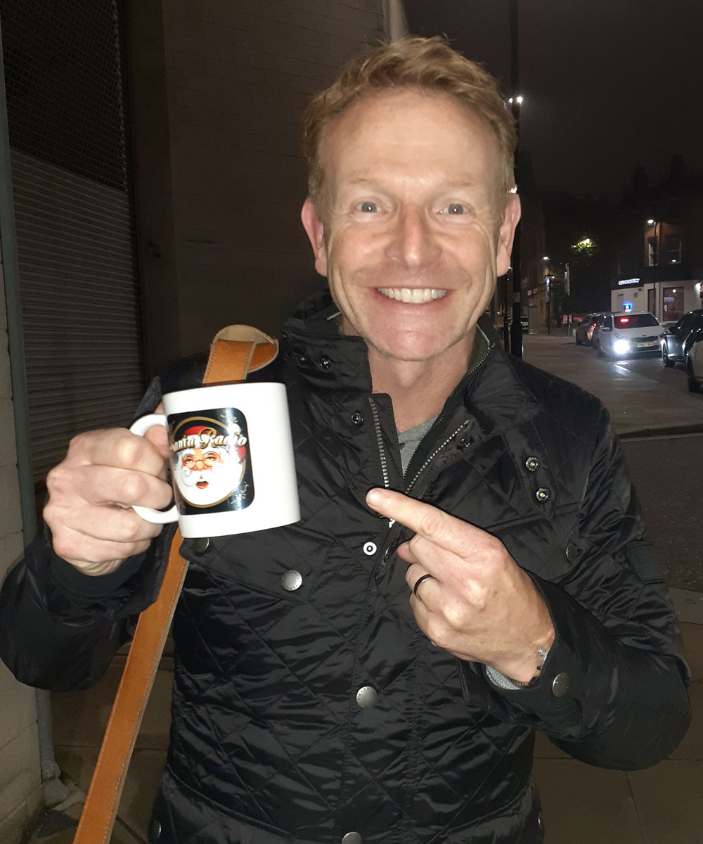 Paul Hendy TV presenter - Santa Radio Celebrity Mugshots