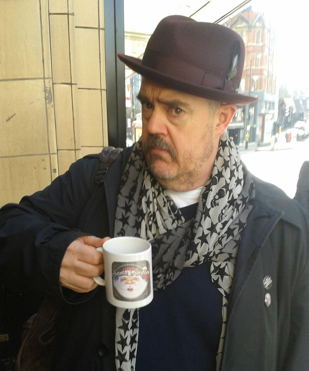 Phill Jupitus - Comedian - Santa Radio Mugshot