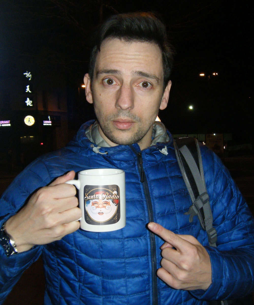 Ralf Little Actor - Santa Radio Celebrity Mugshots
