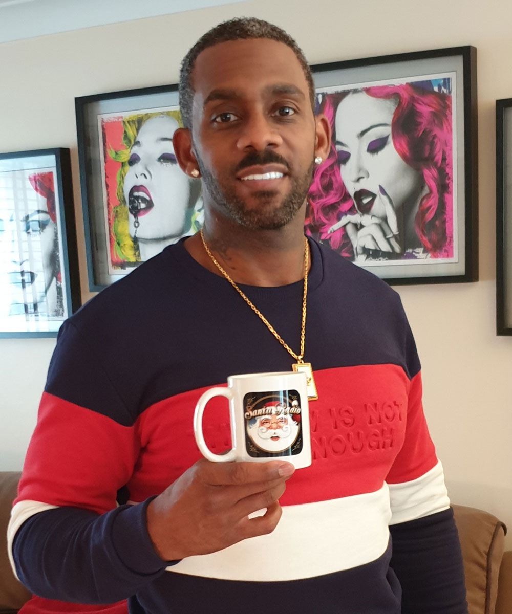 Richard Blackwood Actor - Santa Radio Celebrity Mugshots