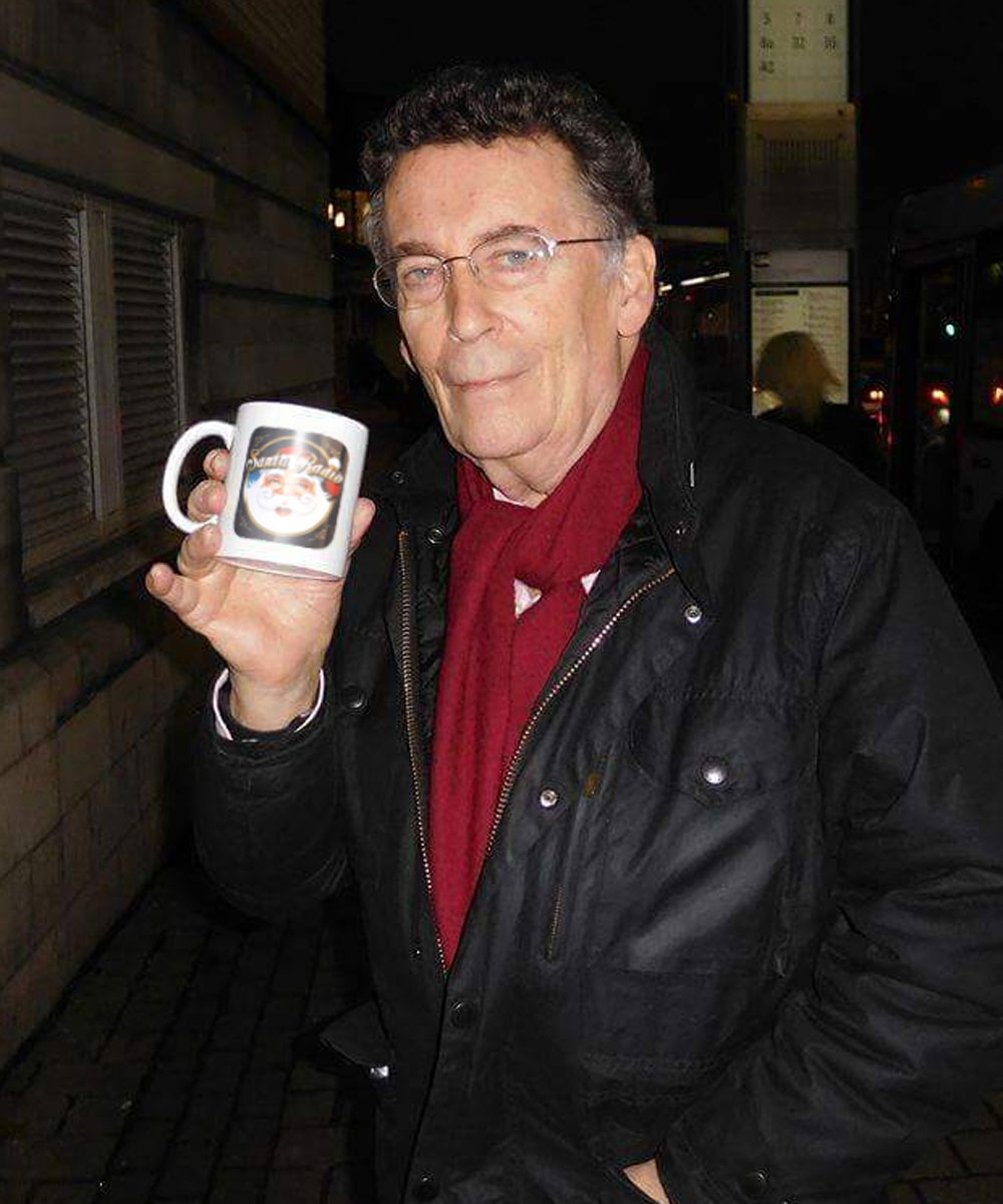 Robert Powell - Television actor - Santa Radio Mugshot