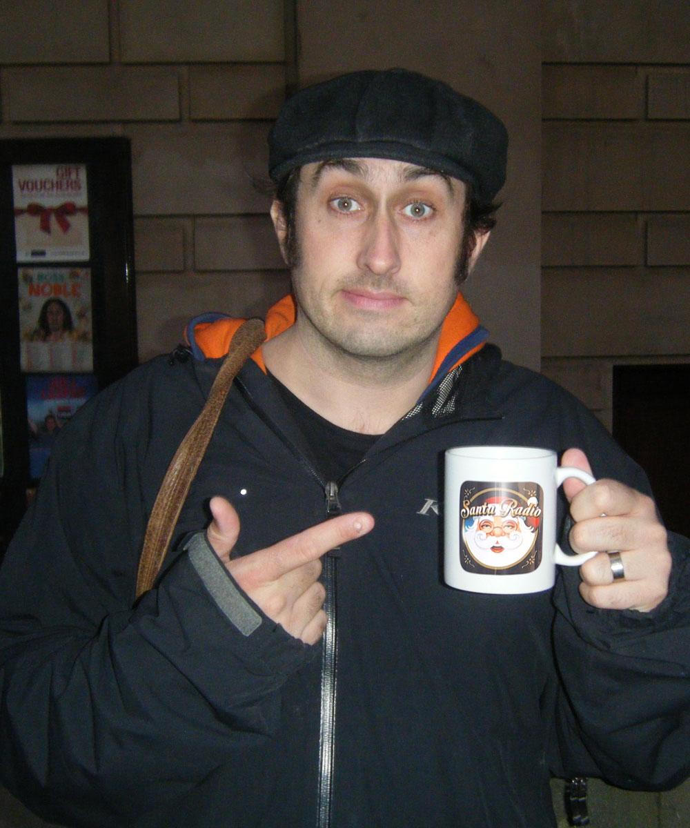 Ross Noble - Comedian & Actor - Santa Radio Mugshot