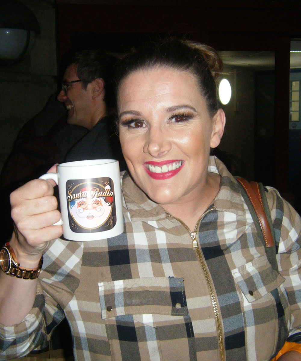 Sam Bailey - Singer-songwriter - Santa Radio Mugshot