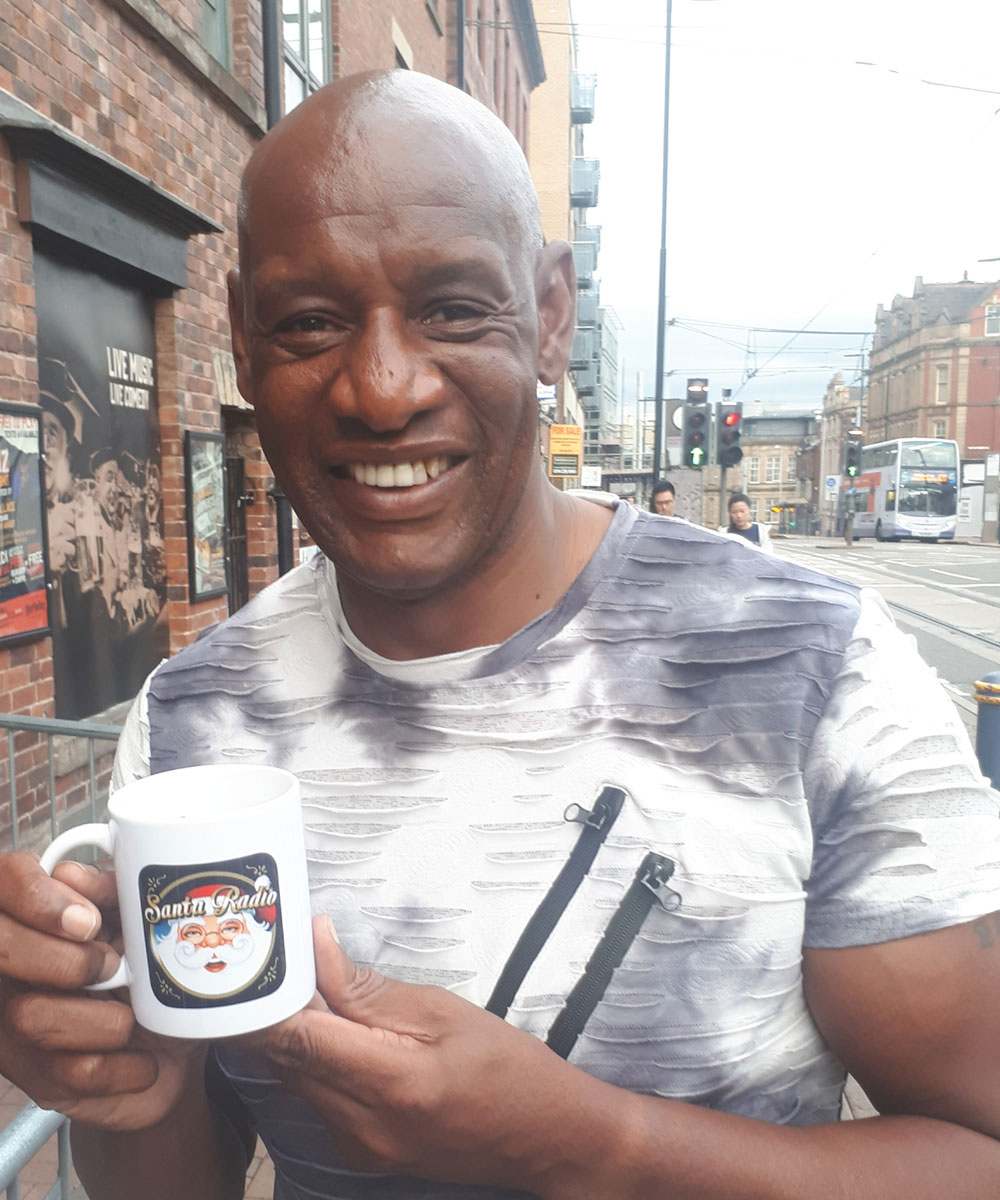 Shaun Wallace The Chase - The Dark Destroyer - Santa Radio Celebrity Mugshots