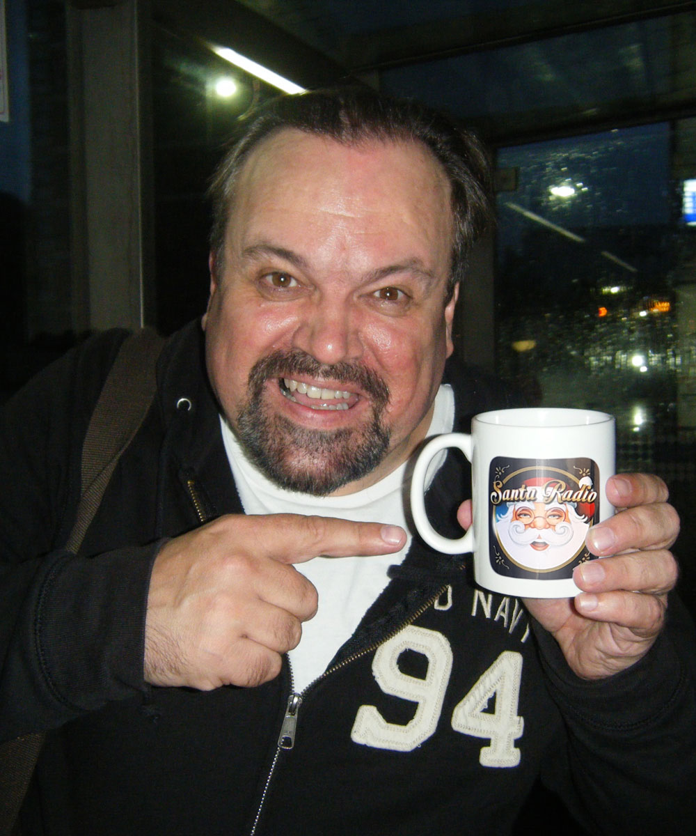 Shaun Williamson Actor - Santa Radio Celebrity Mugshots