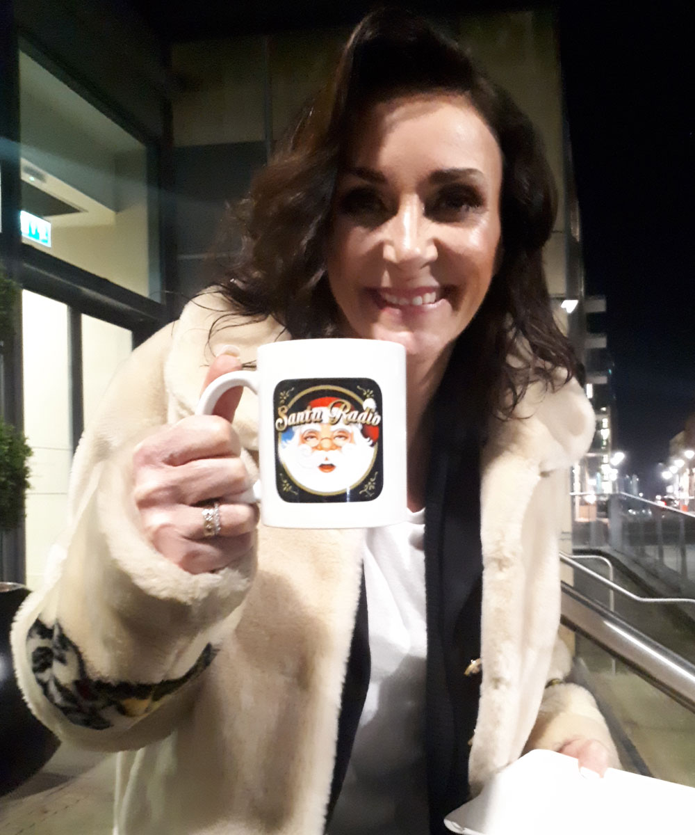 Shirley Ballas Dancer - Santa Radio Celebrity Mugshots