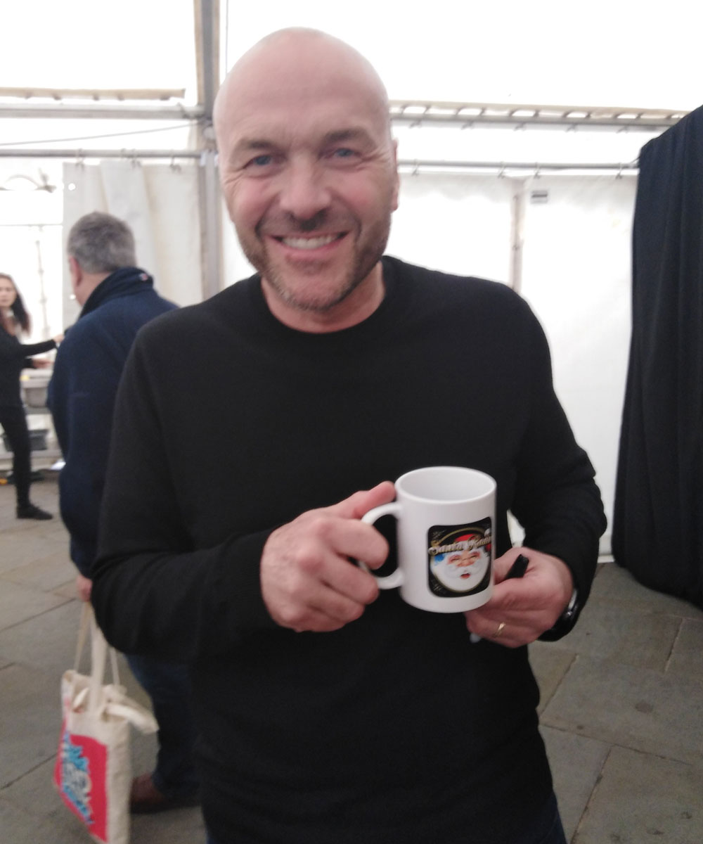 Simon Rimmer Cook & Presenter - Santa Radio Celebrity Mugshots