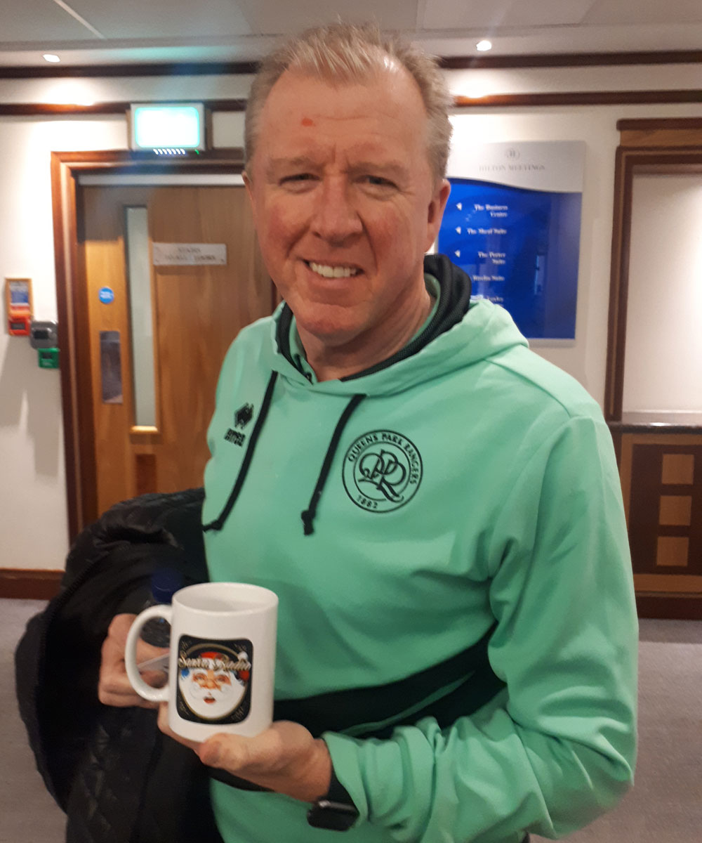 Steve McClaren Football manager - Santa Radio Celebrity Mugshots