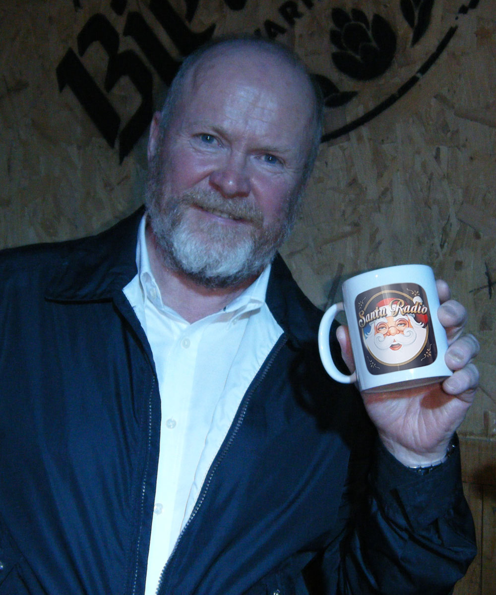 Steve McFadden Actor - Santa Radio Celebrity Mugshots