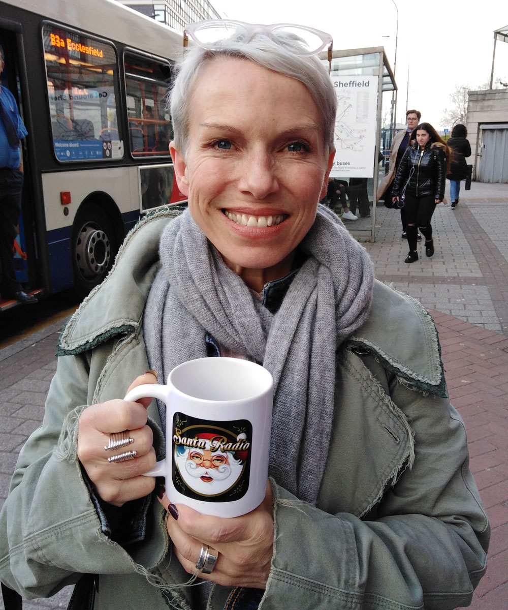Sue Devaney Actress - Santa Radio Celebrity Mugshots