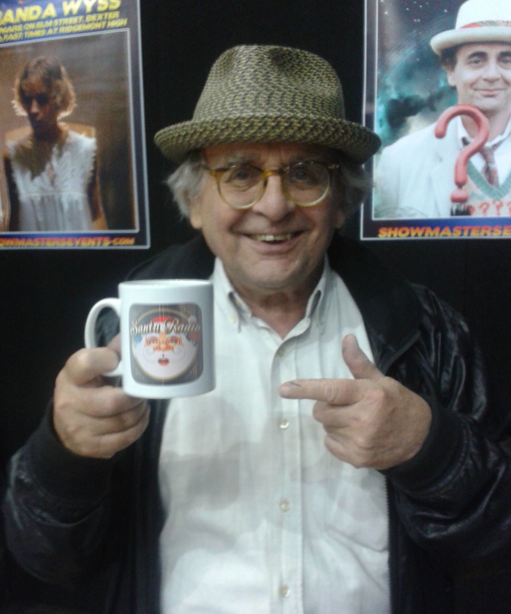Sylvester McCoy Actor - Santa Radio Celebrity Mugshots