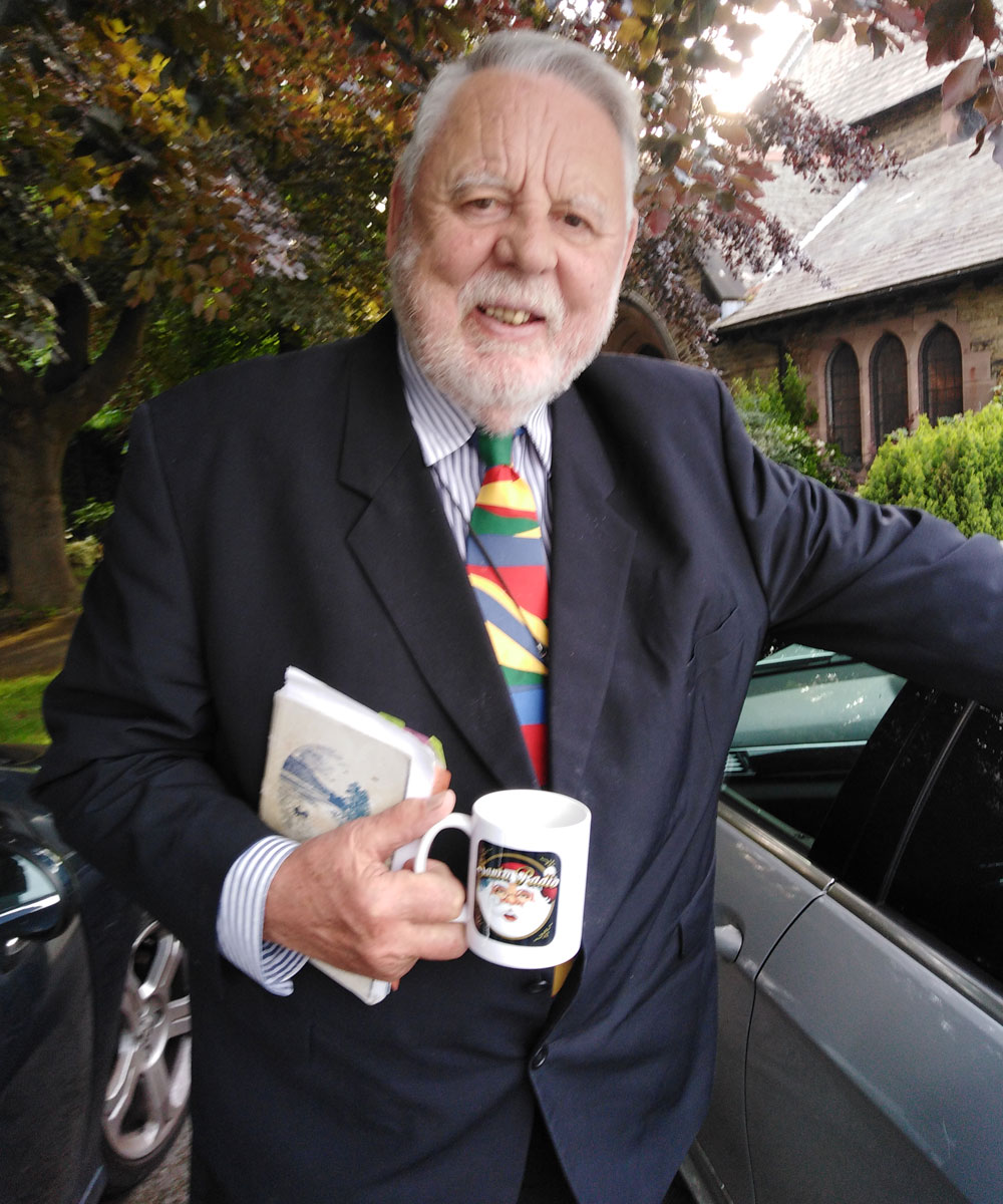 Terry Waite Humanitarian - Santa Radio Celebrity Mugshots