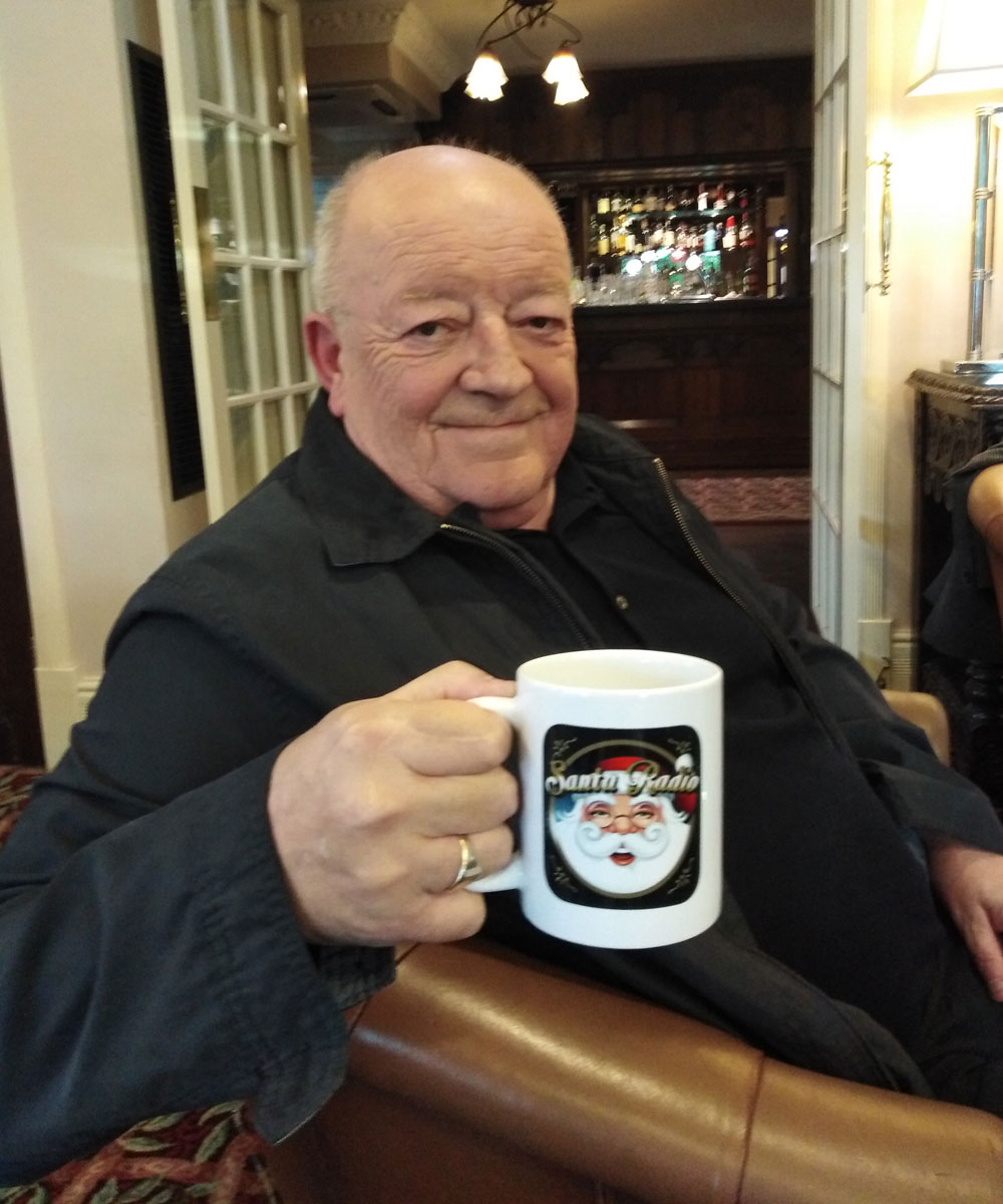 Tim Healy Actor - Santa Radio Celebrity Mugshots