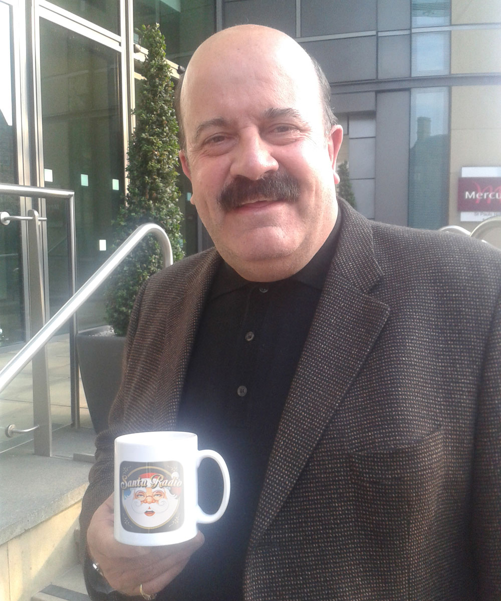 Willie Thorne Sports commentator - Santa Radio Celebrity Mugshots